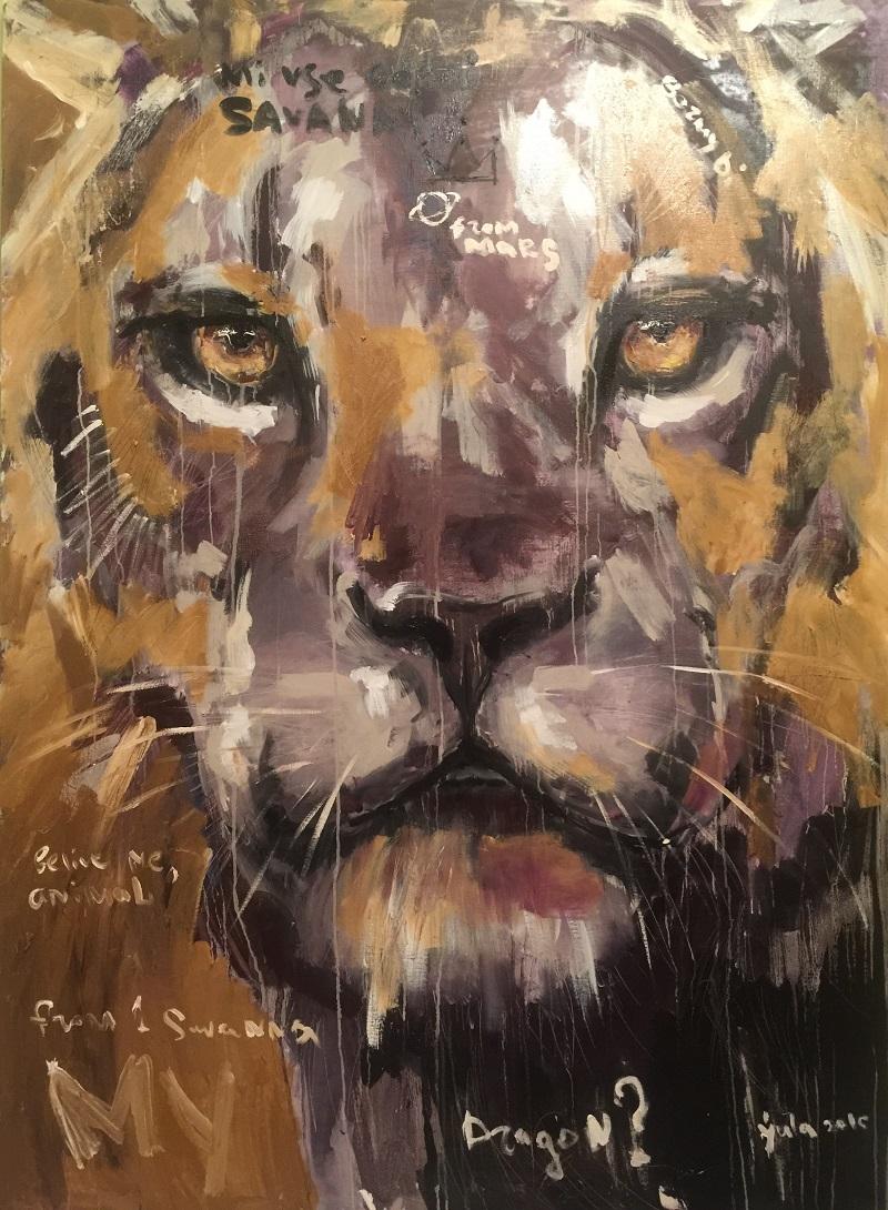 from savanna / canvas, oil / 150x110cm / 2016