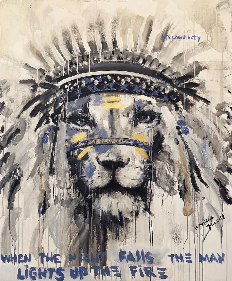 ilon 2 / canvas, acrylic / 120x100cm / 2018