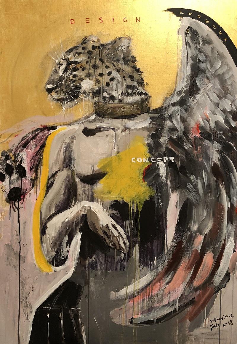 design / canvas, acrylic / 130x90cm / 2018