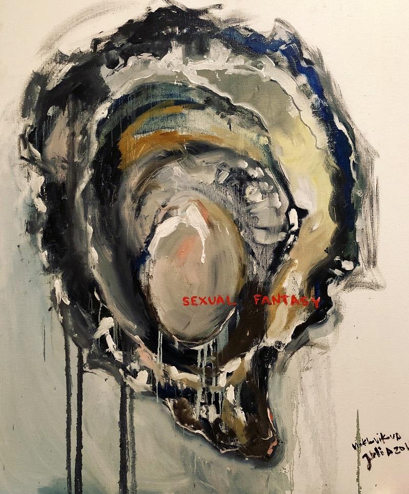 sexual fantasy / canvas, oil / 120x100cm / 2018