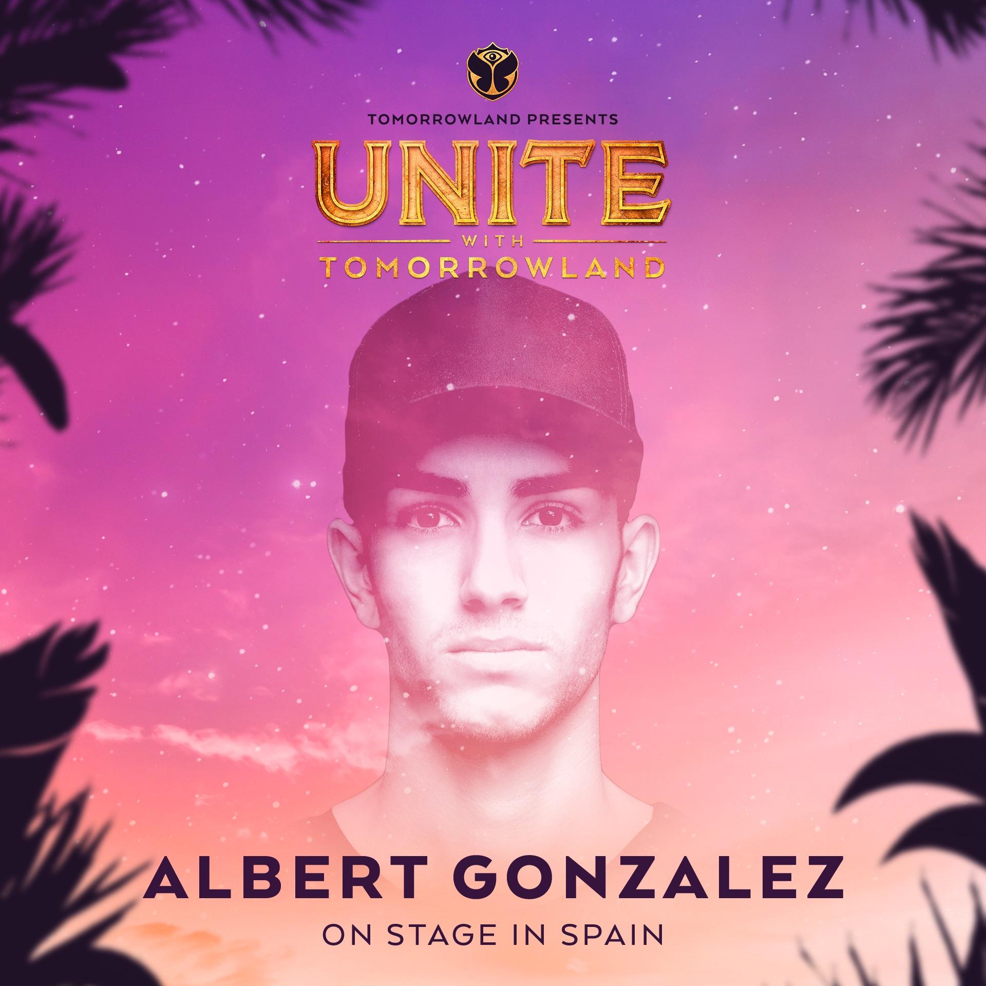 Albert Gonzalez en UNITE with Tomorrowland Barcelona 2018