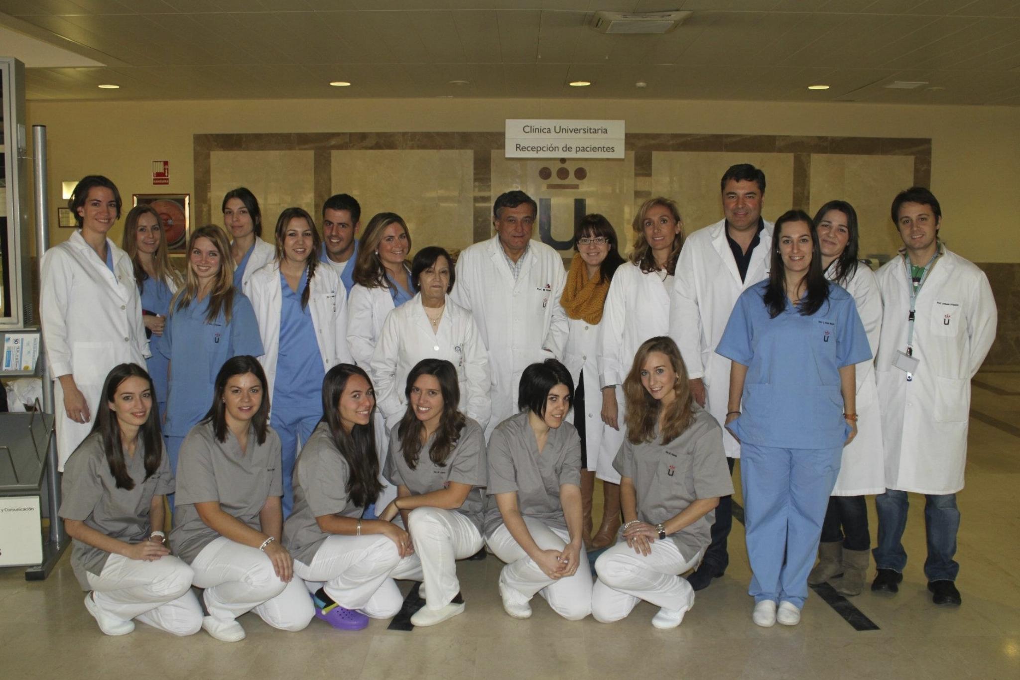 Teaching at the Rey Juan Carlos University -2011 - Spain