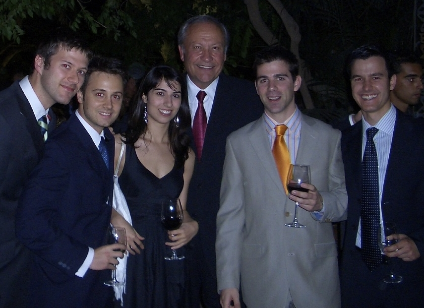 With Dr Dwight Damon at the Spanish Orthodontic Meeting -2008 - Spain