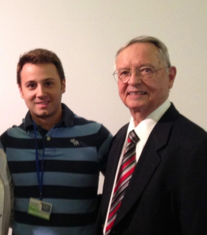 """With Dr Andrews, author of """"the 6 keys of occlusion"""" - 2010 - Spain"""