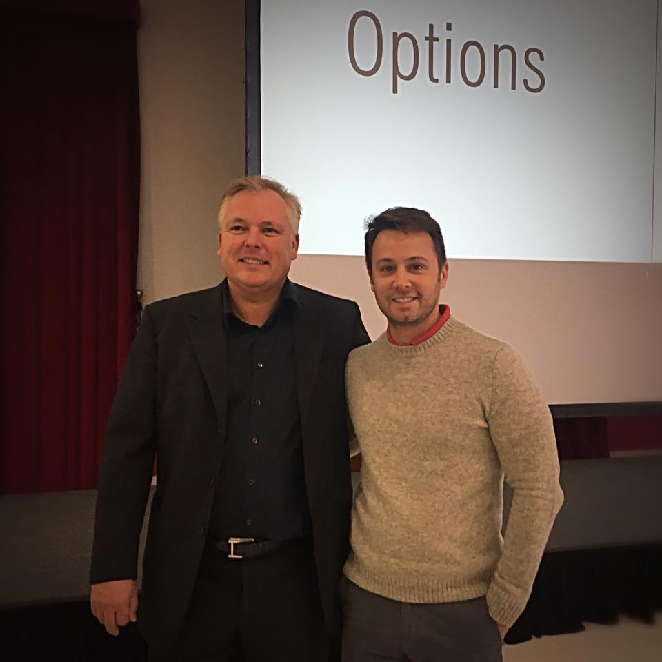With Dr. Dirk Wiechmann at the Win Certification Course - 2017 - Italy