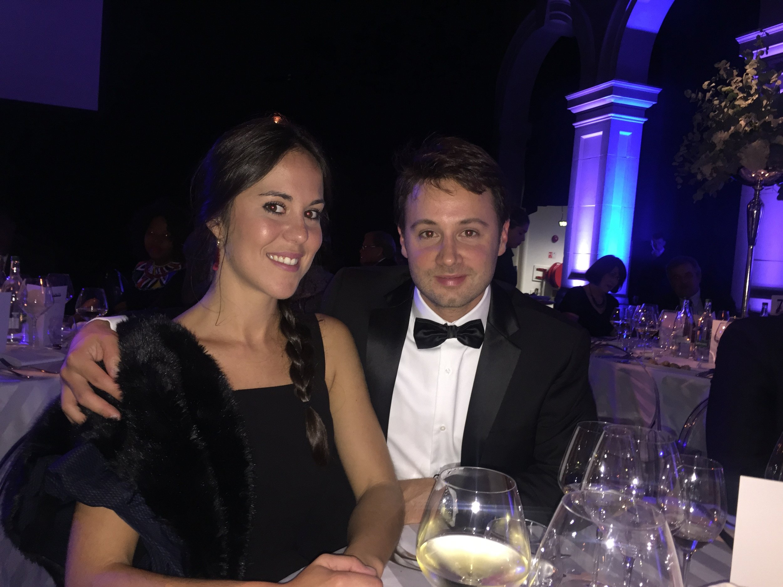 At the gala dinner of the 8th International Orthodontic Congress (WFO)-2015 -London