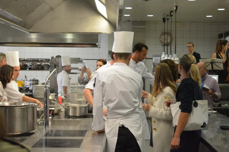 De l'action en cuisine