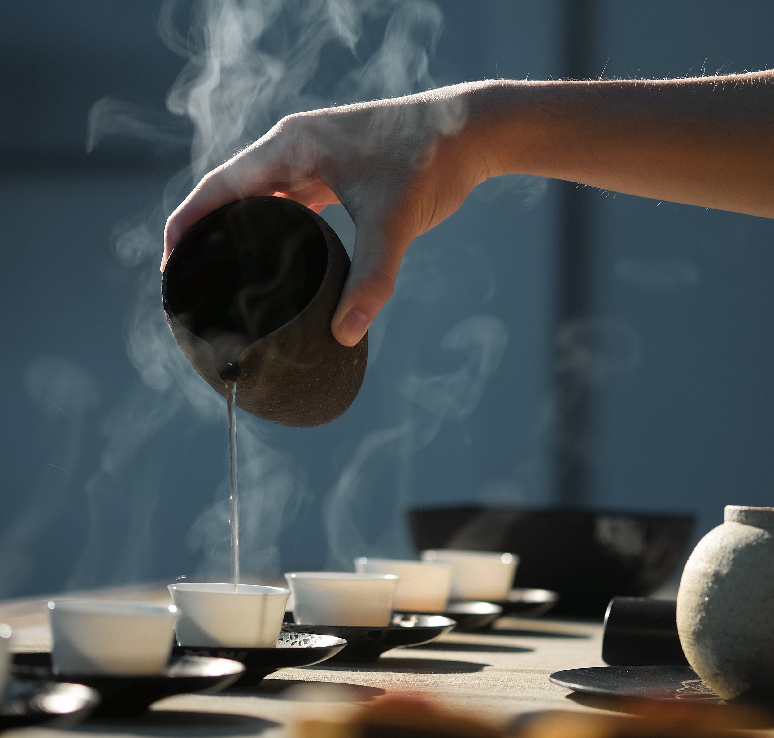 Preparation - Bring water to boil then add one pinch of herbal tea per cup. Turn heat off and cover. Infuse for up to 10 minutes.