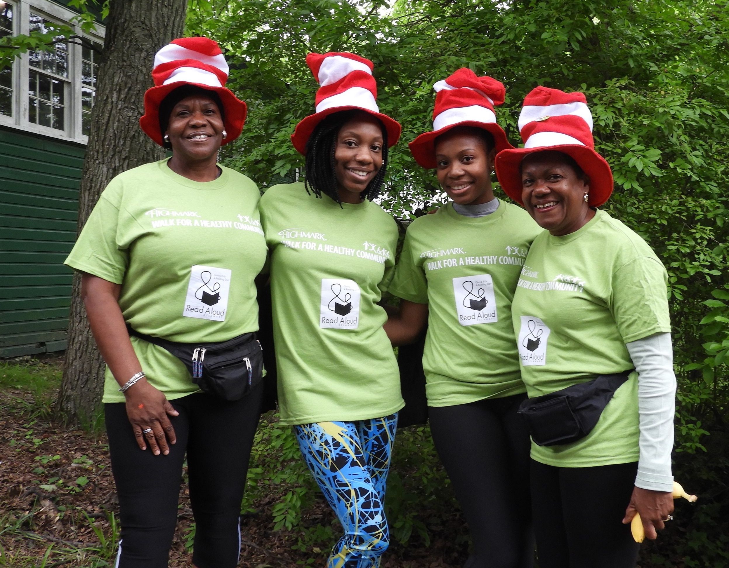 Support us in the Highmark Walk - Join us on June 8, 2019 for a fun event to raise funds for Read Aloud Delaware and introduce friends to our mission. For more information, please call us at (302) 656-5256.