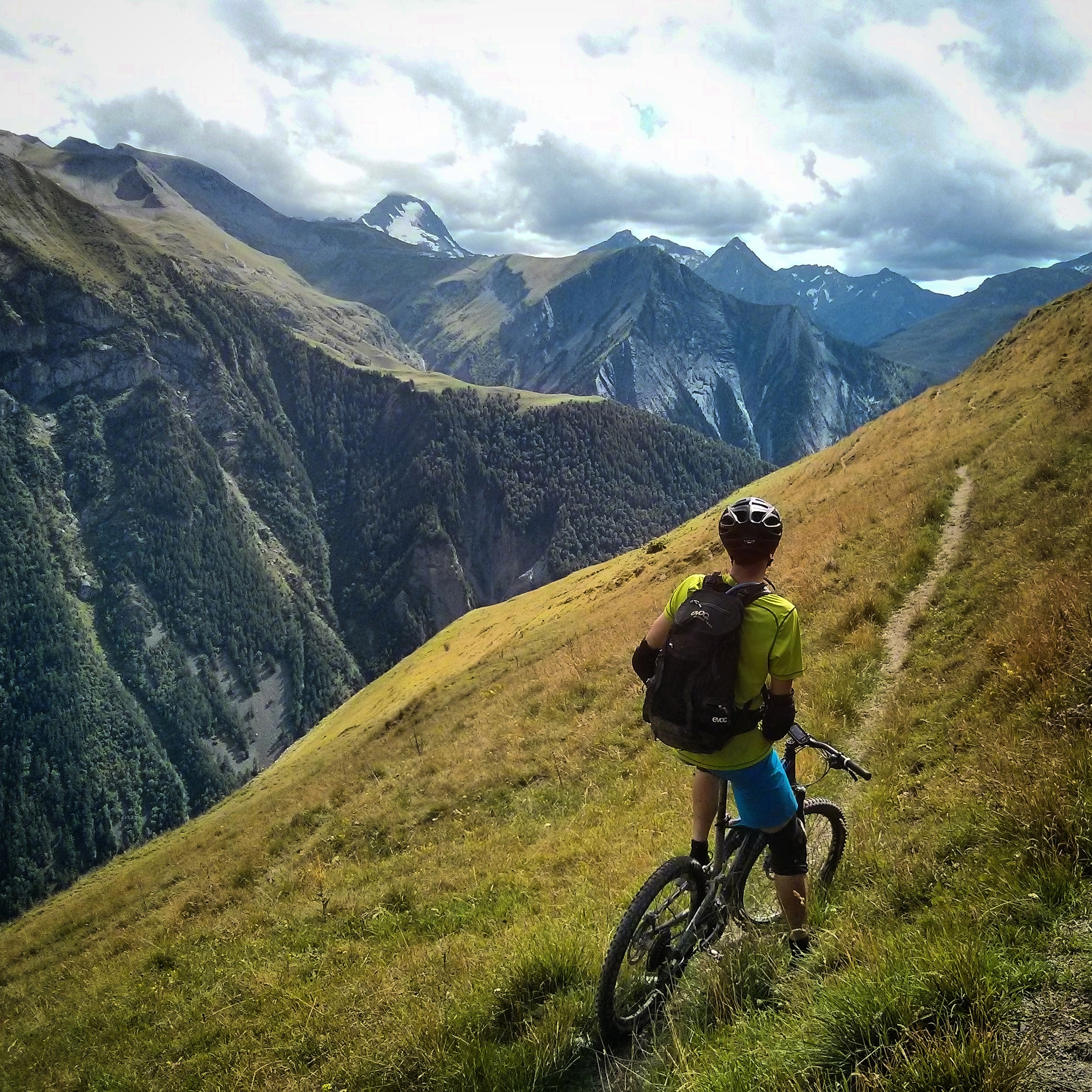 French Alpine singletrack.