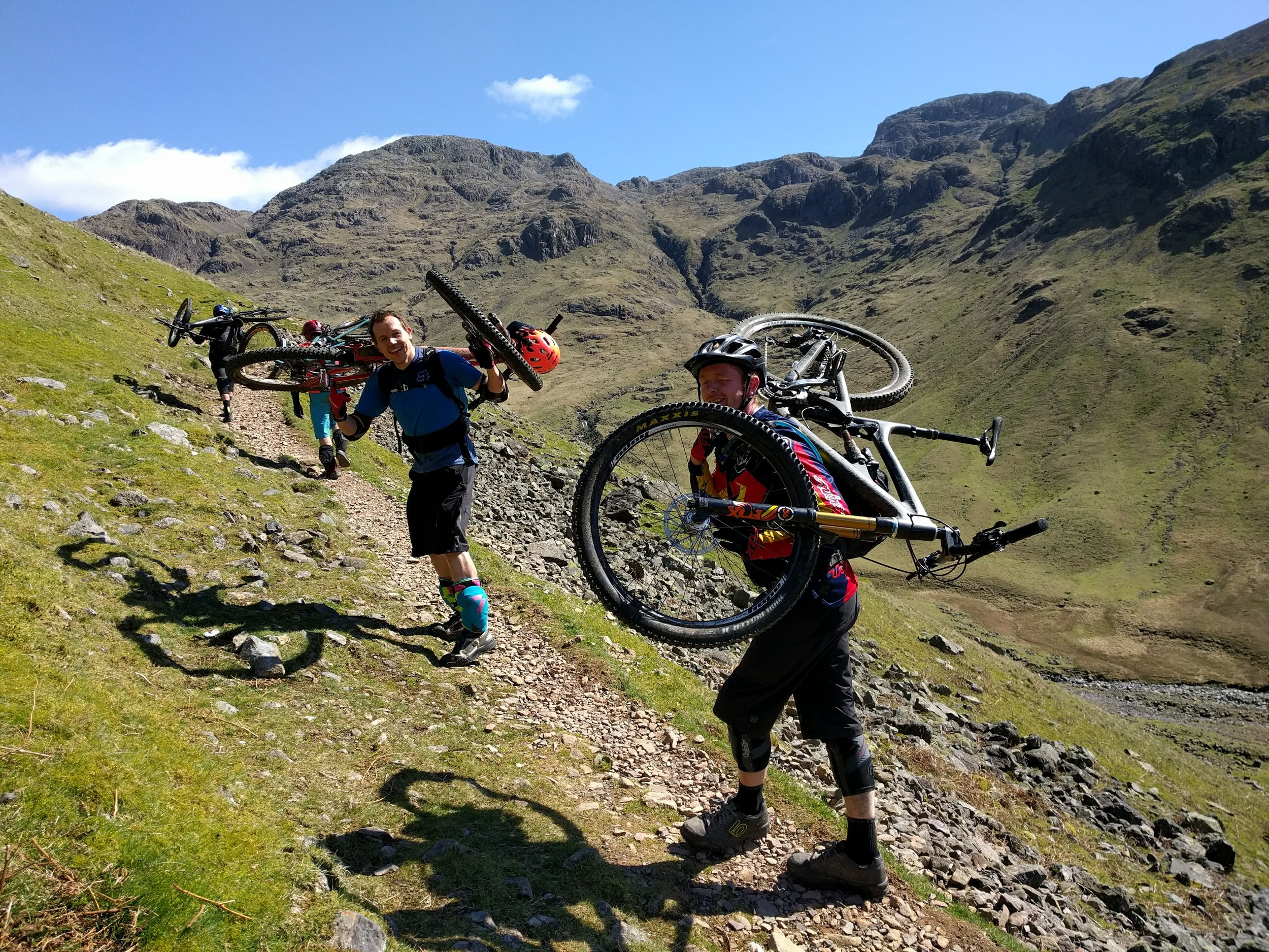 Lake District Mountain Biking Big Day Out!
