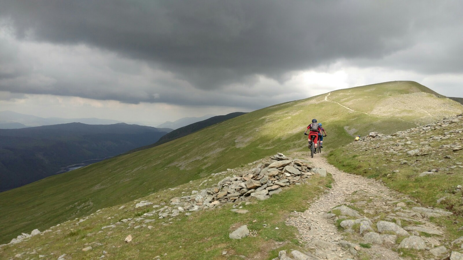 Dark skies ahead on Helvellyn