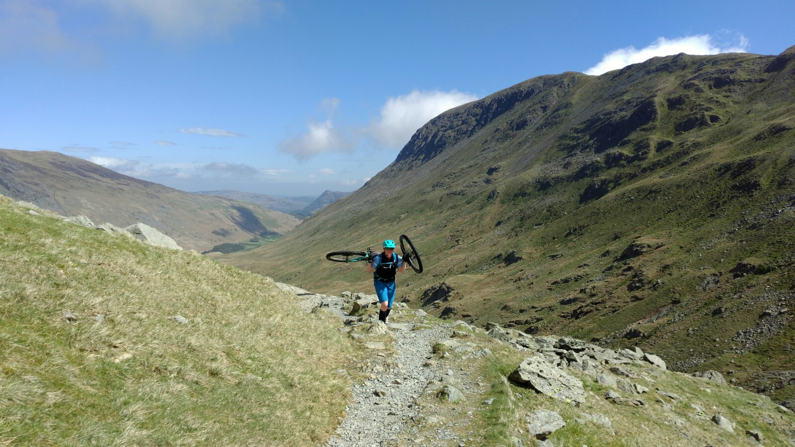 Hike a Bike in the Lakes Summer 2018