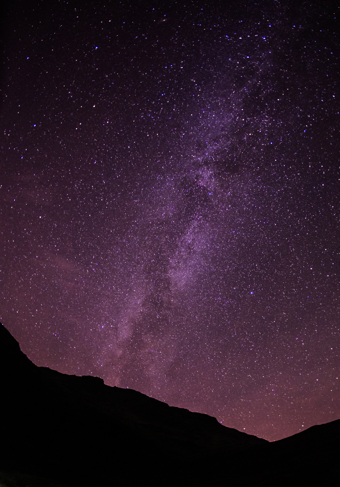 The Milky Way: Pete Scullion