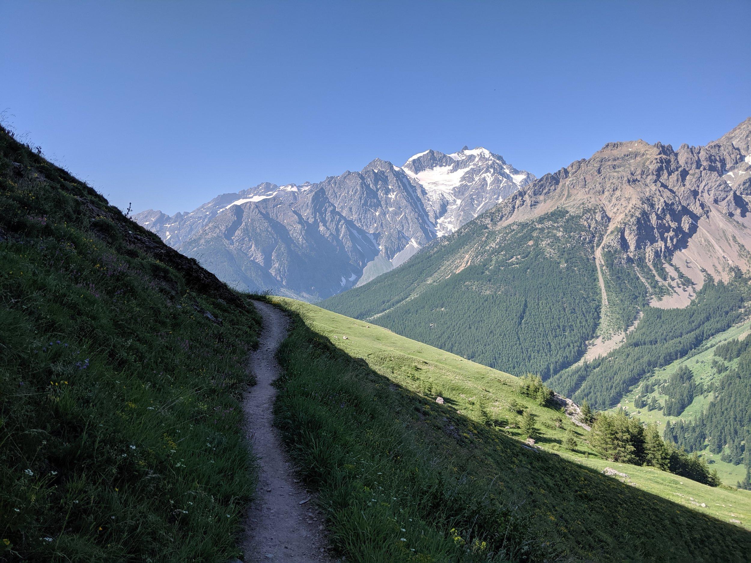 Serre Chevalier balcony trails