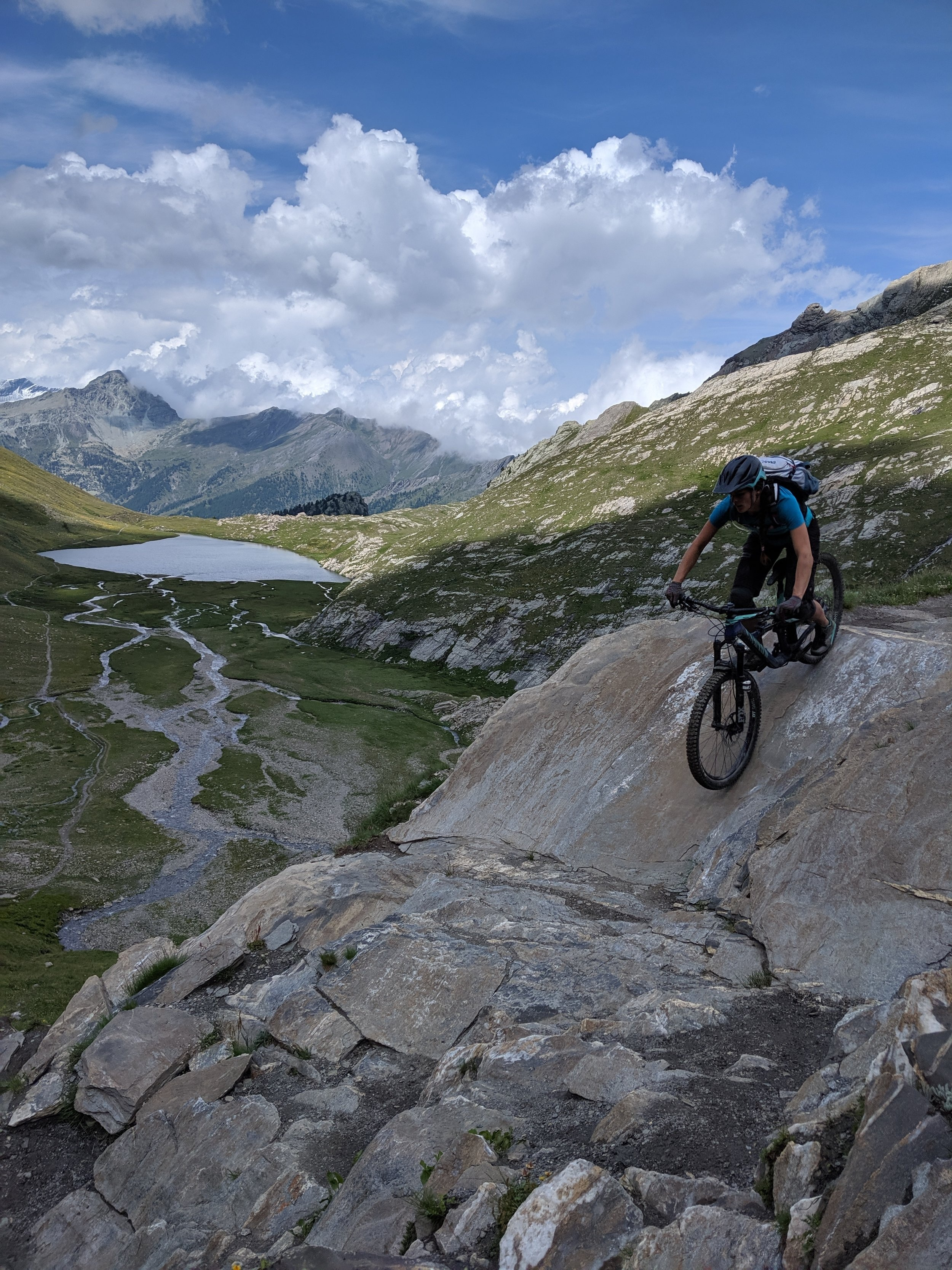 Mind-blowing Hautes-Alpes scenery and riding