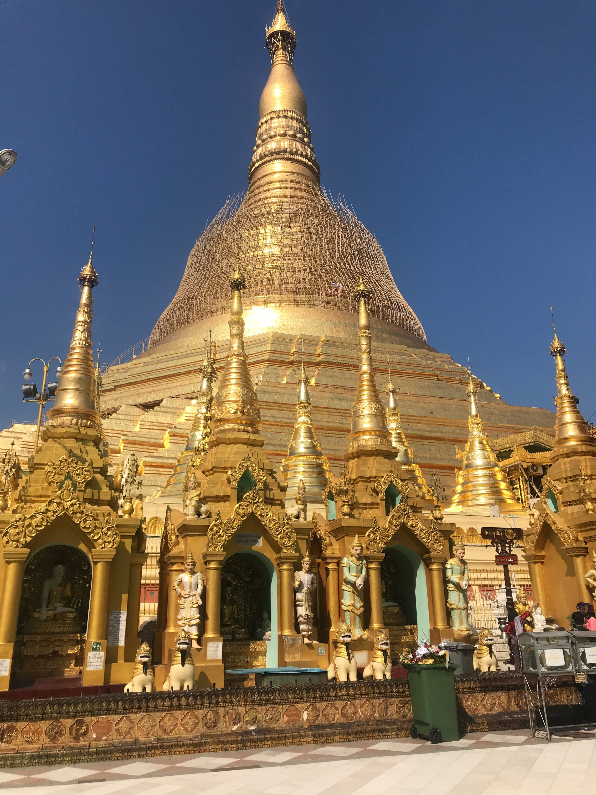 Shwedagon palace