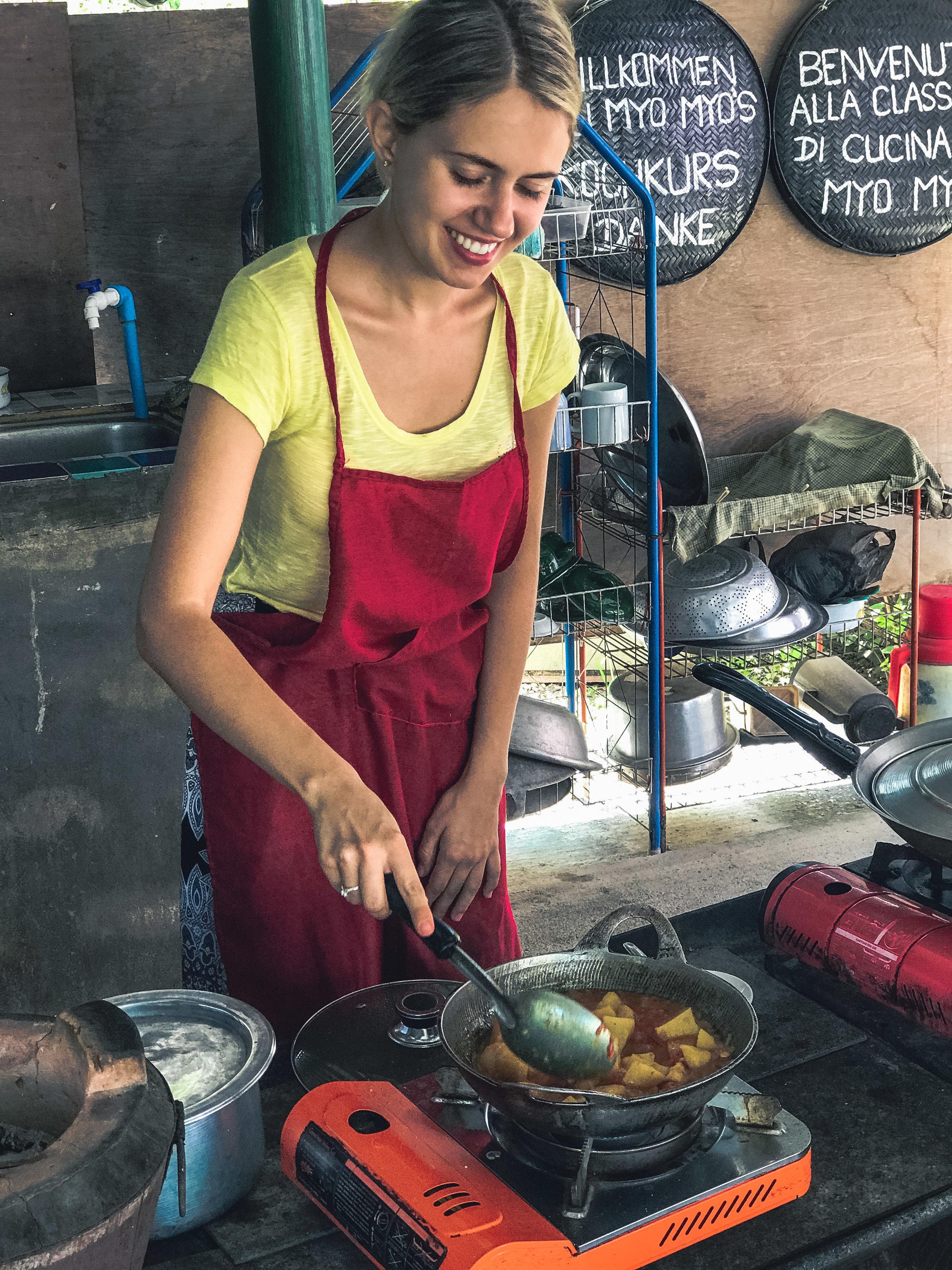 Cooking Class Myanmar