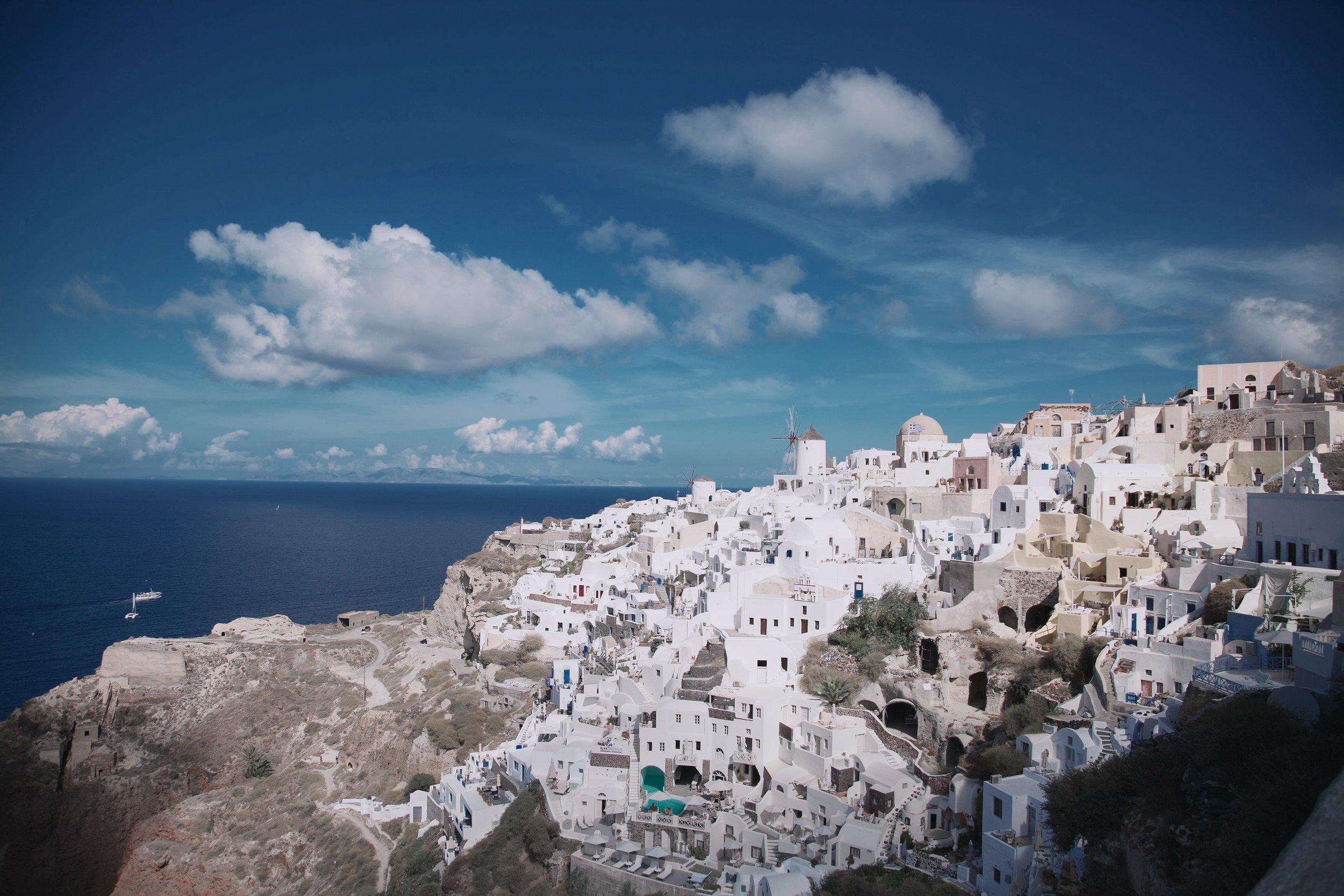 Santorini, Greece: photo by Executive Thrillseekers