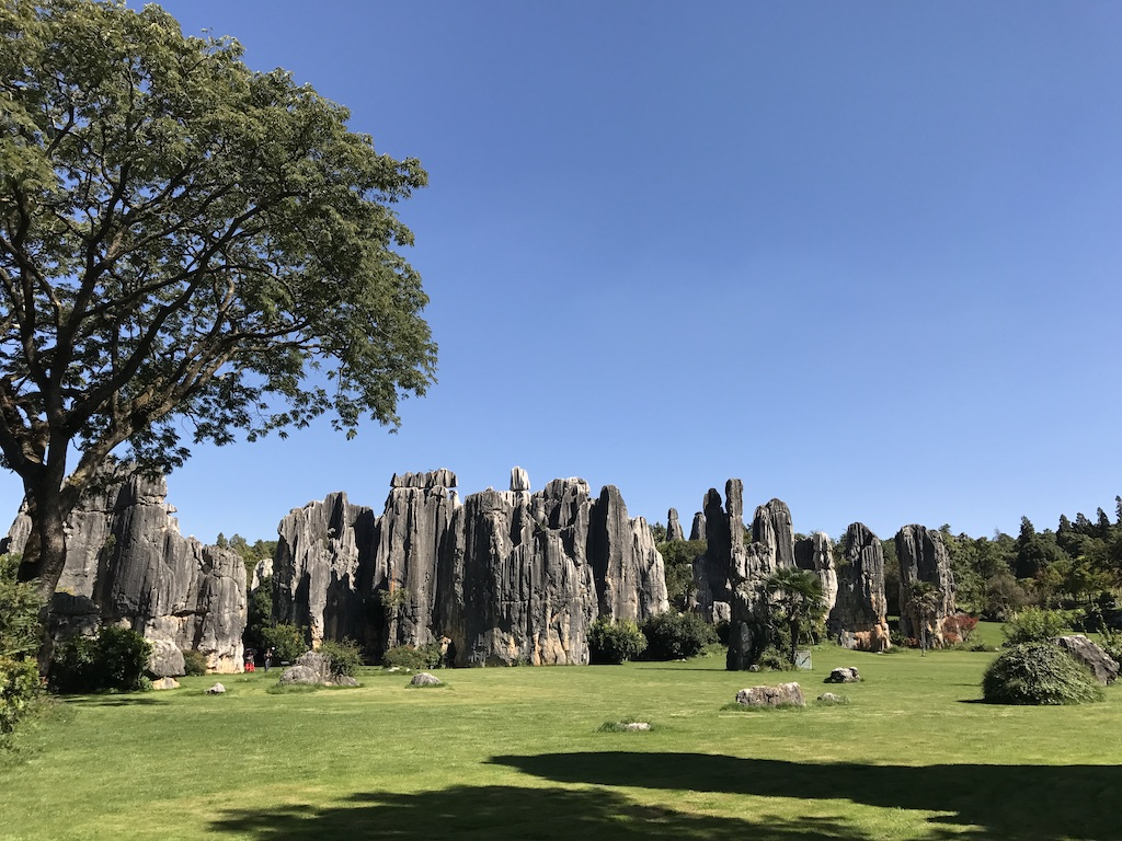 Stone Forest in Yunnan, China