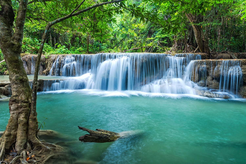 Erawan Natinal Park in Thailand
