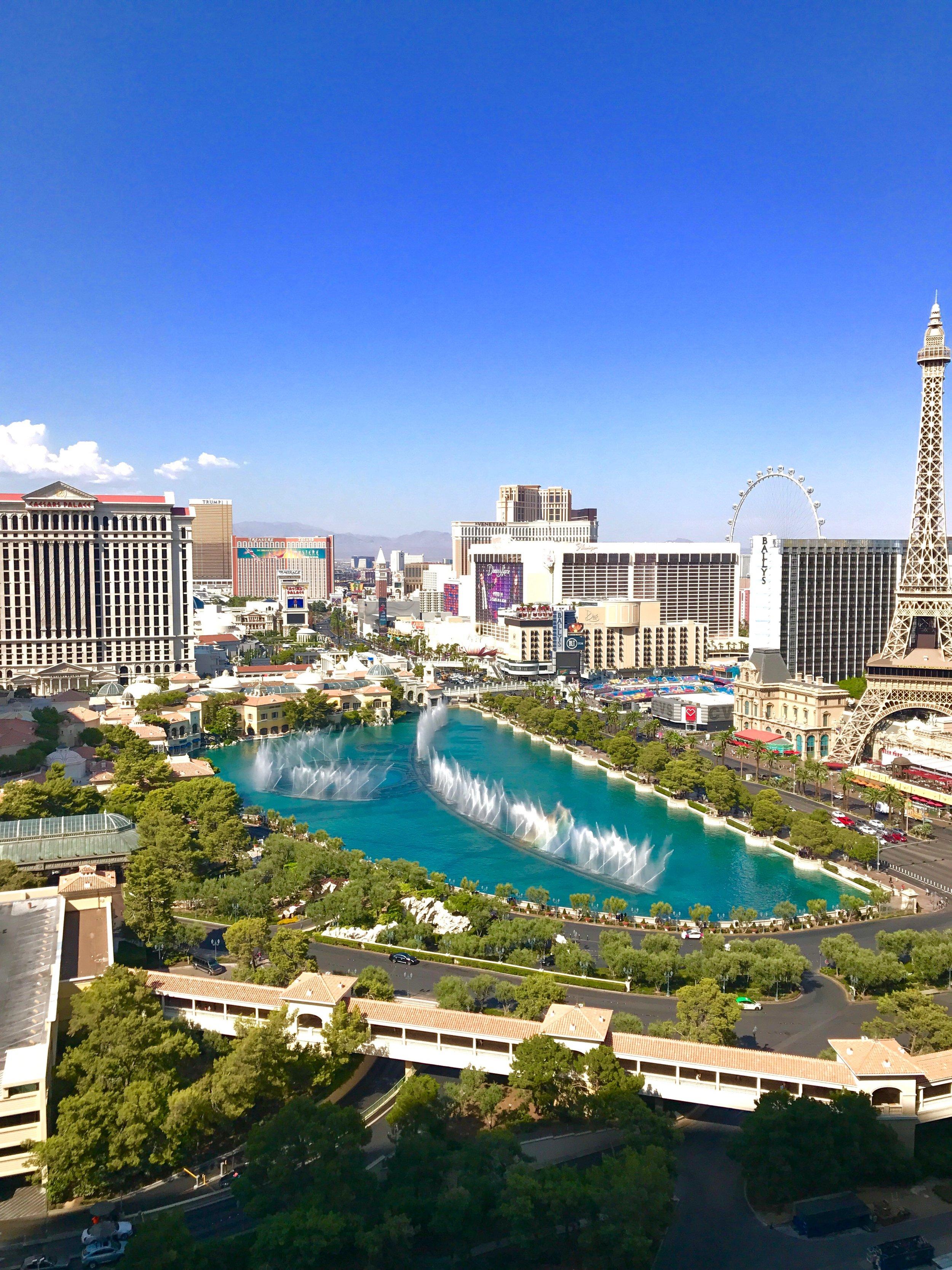 Bellagio Fountain Free Entertainment Las Vegas