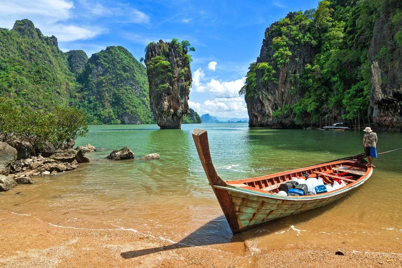 Ao Phang Nga National Park in Thailand