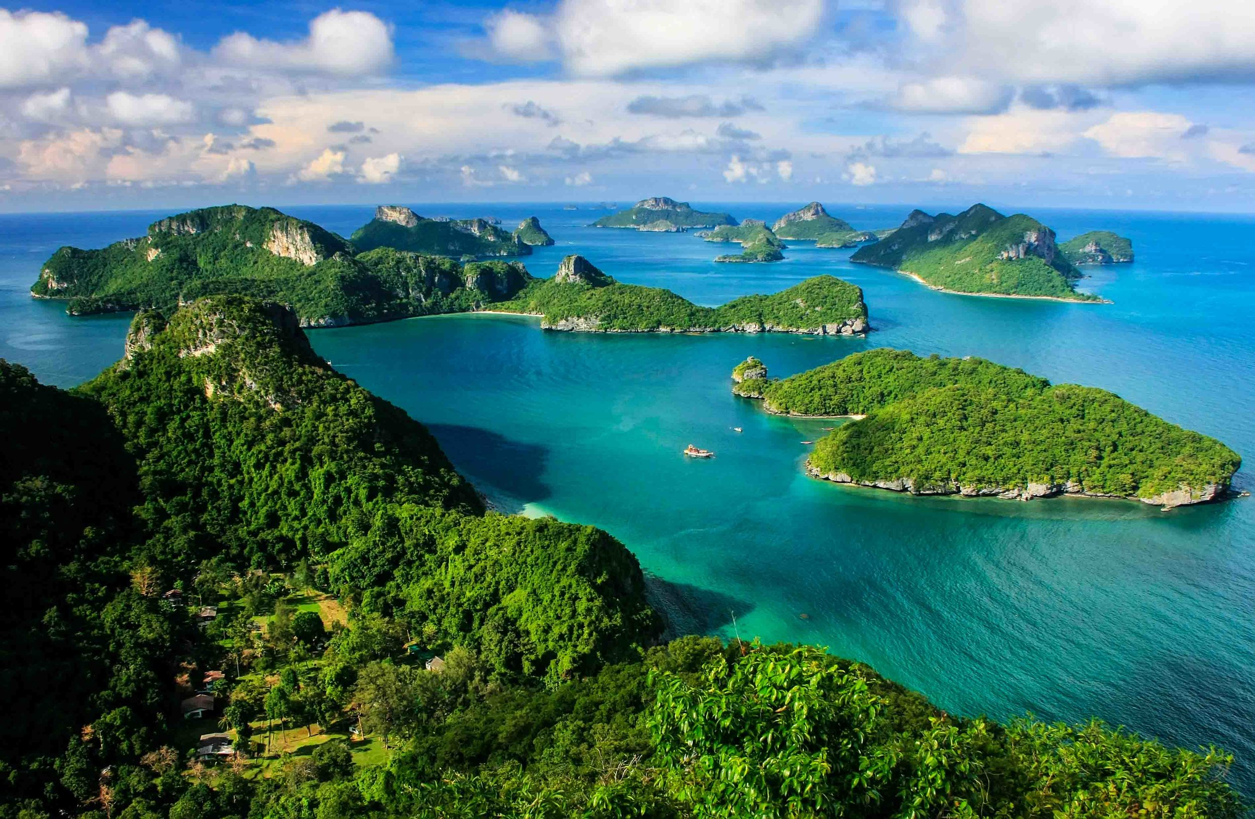Similan Islands National Park in Thailand