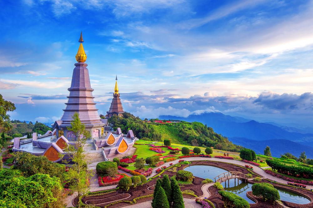 Doi Inthanon National Park in Thailand
