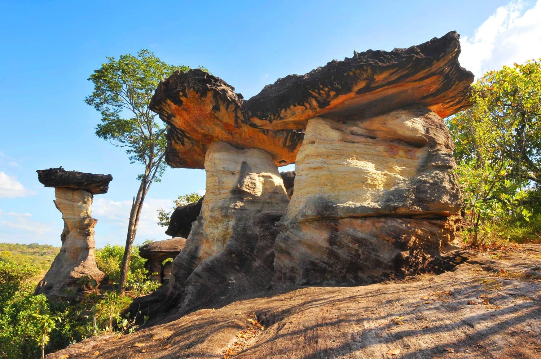 Pha Taem National Park in Thailand