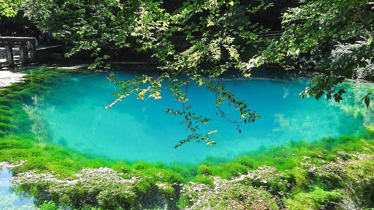 natural sites in germany Lake Blautopf