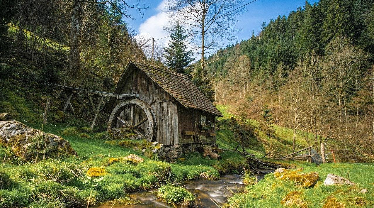 Germany nature famous landmarks The Black Forest (Schwarzwald)