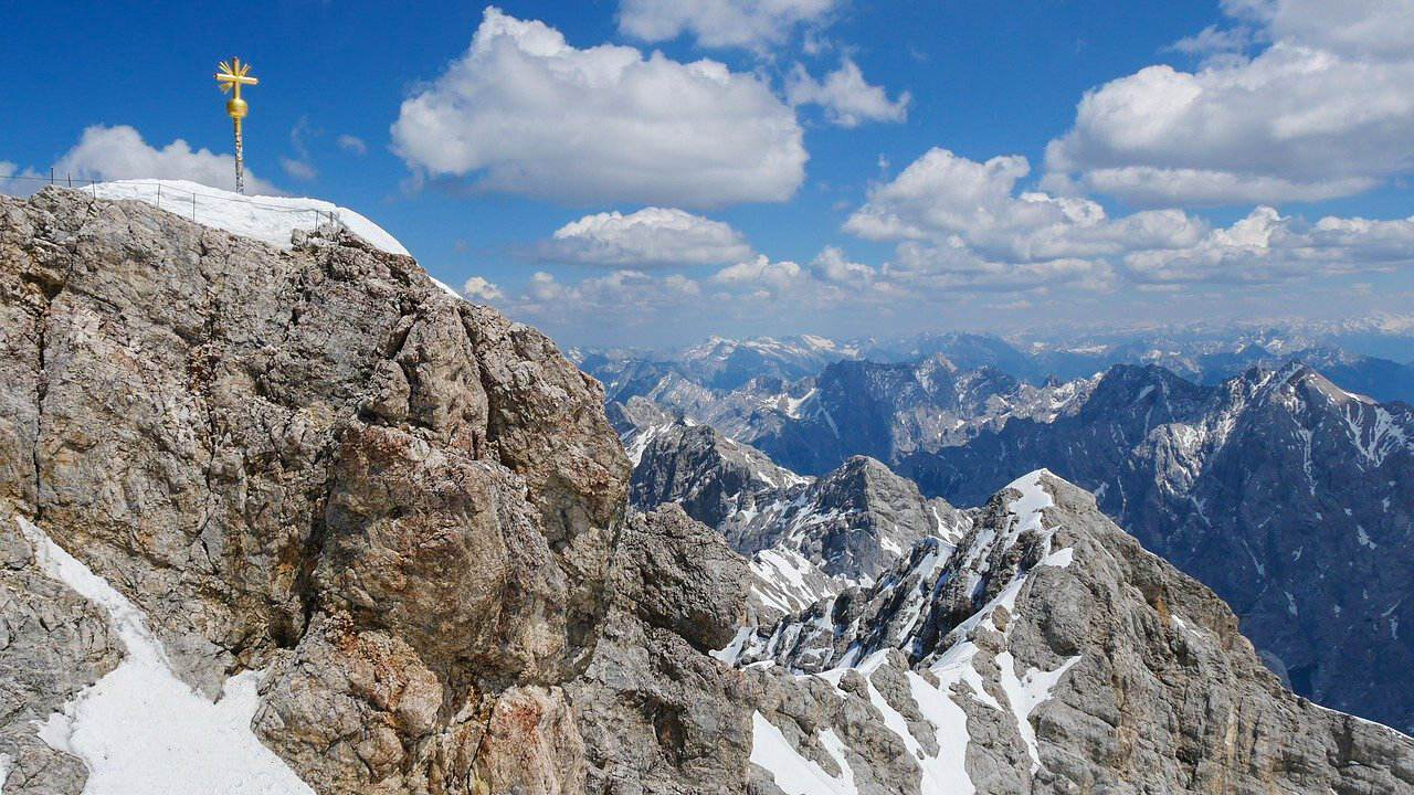 natural wonders Germany The Zugspitze