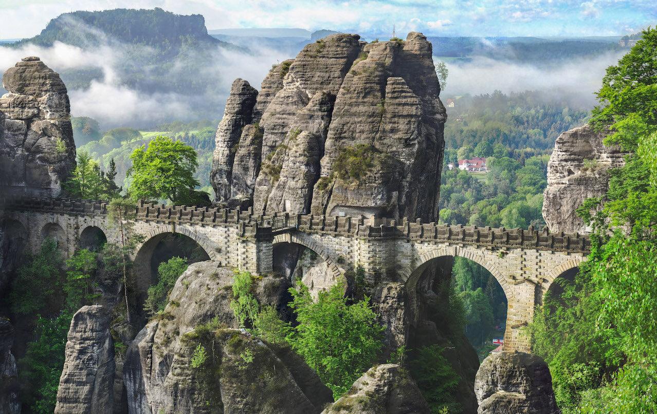 german nature natural sites in germany Saxon Switzerland National Park