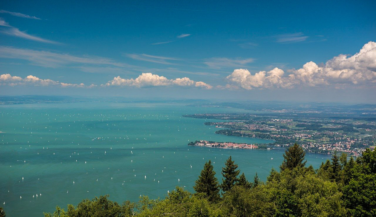 scenic places in germany The Bodensee (Lake Constance)