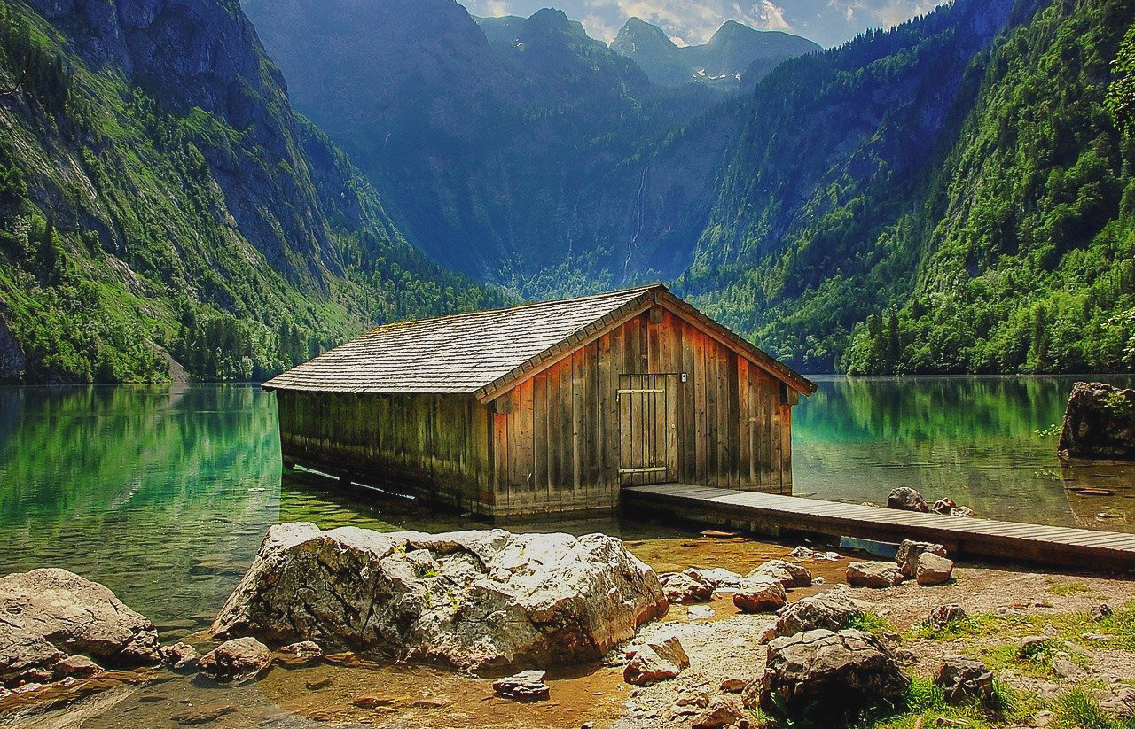 Obersee Lake, Bavaria natural attractions in germany