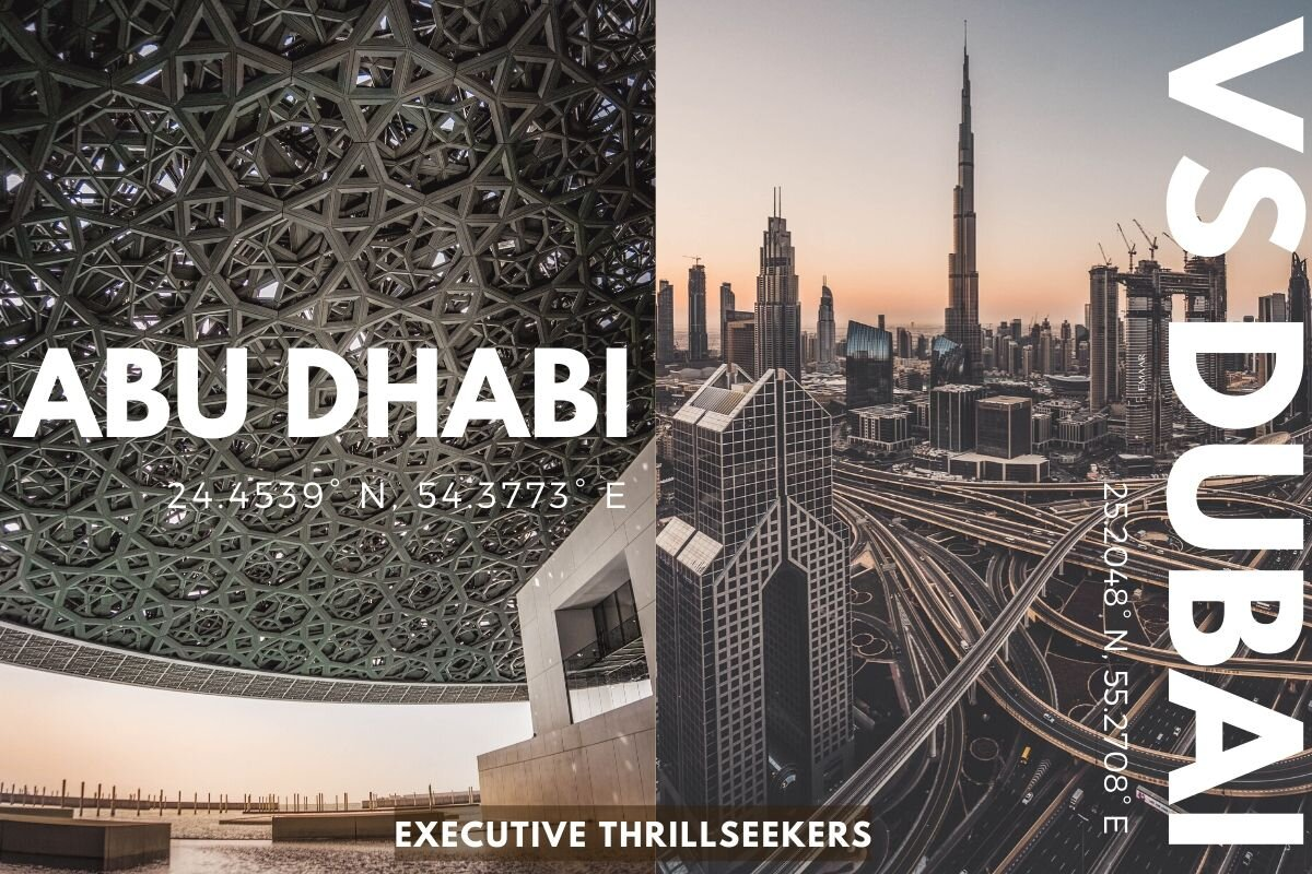 Abu Dhabi vs Dubai: Which Is Right for You?