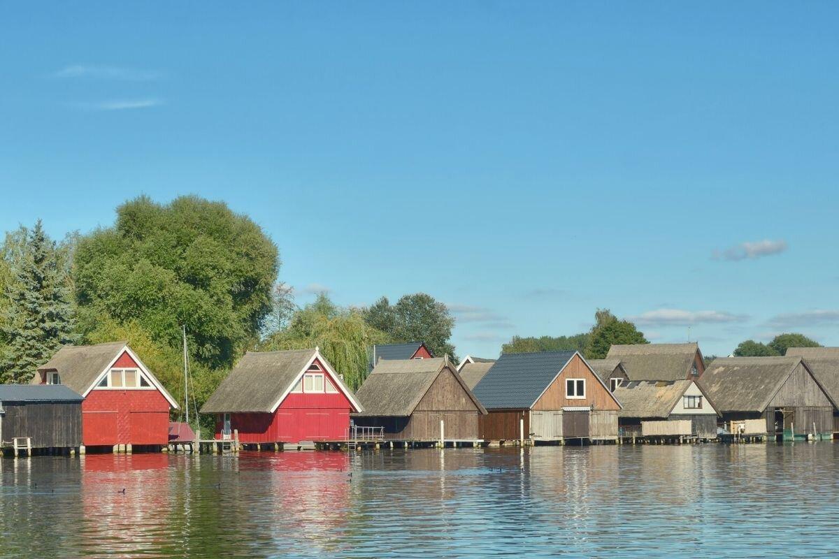 Müritz Mecklenburg little lake towns near Munich