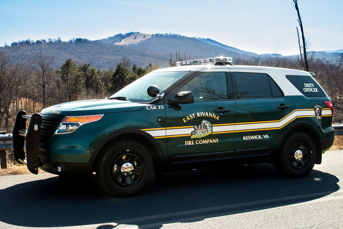 CAR 23   • 2015 FORD POLICE INTERCEPTOR UTILITY • DUTY OFFICER/INCIDENT COMMAND VEHICLE