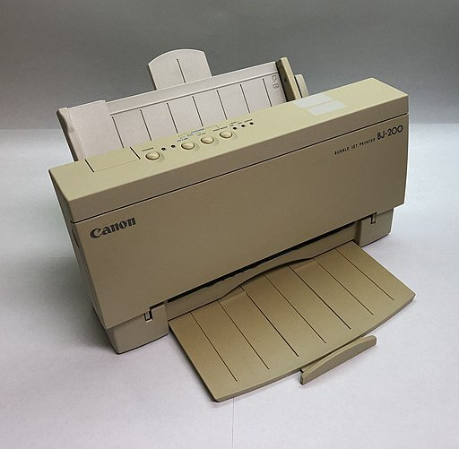 1 - Color Printer Inkjet or Laser - Image by Jphill19 [CC BY-SA 4.0 ]