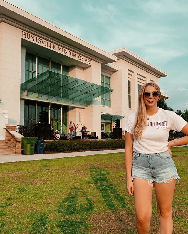 When bae plays @artshuntsville Concerts in the Park you show up in full groupie merch. Get you a Wanda Concerts in the Park 2019 tee today . 📍 @downtownhsv / @hsvmuseumart . . . #concertsinthepark #merch #artistmerch #citp #artshuntsville #huntsvilleal #huntsvillealabama #rocketcity #monday #mondayfunday #funmonday #manicmonday #singersongwriter #supportlocal #localmusic #outdoorconcert #concertseries #knowhuntsville
