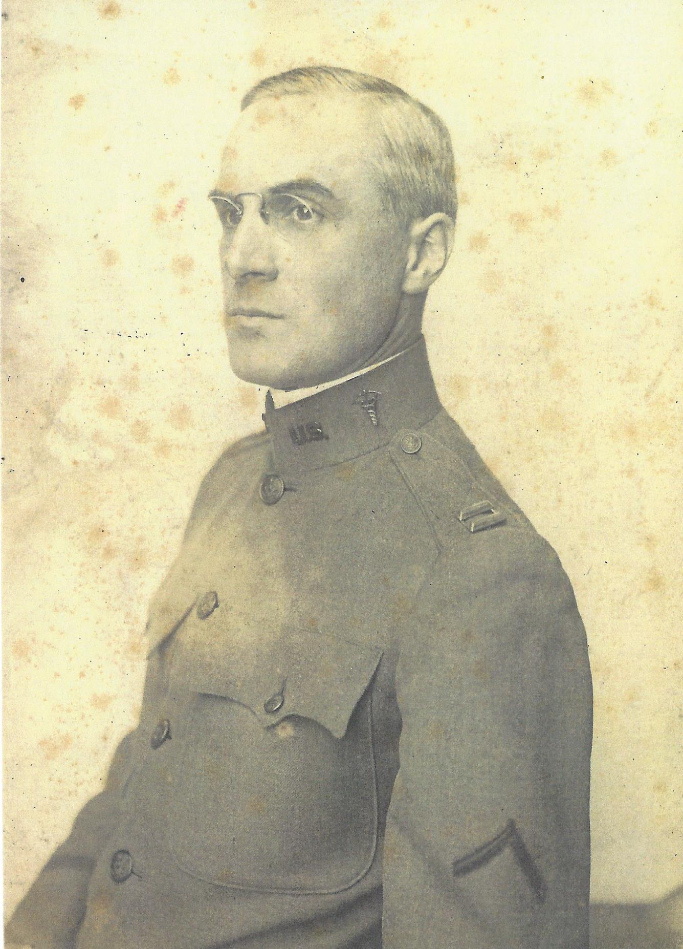 Major James Wyckoff, M.D. circa 1918 -
