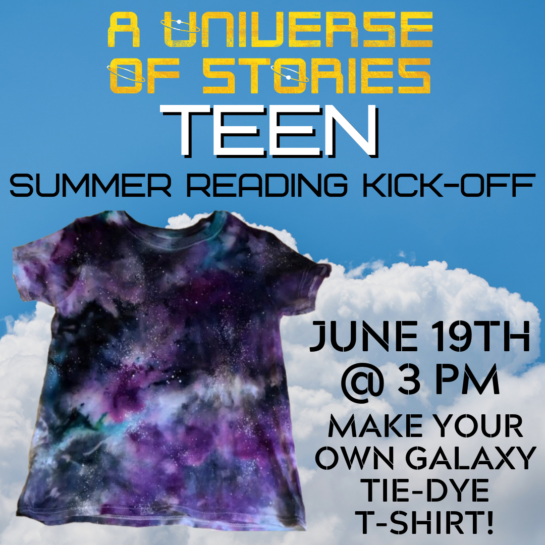Teen Summer Reading KickOff