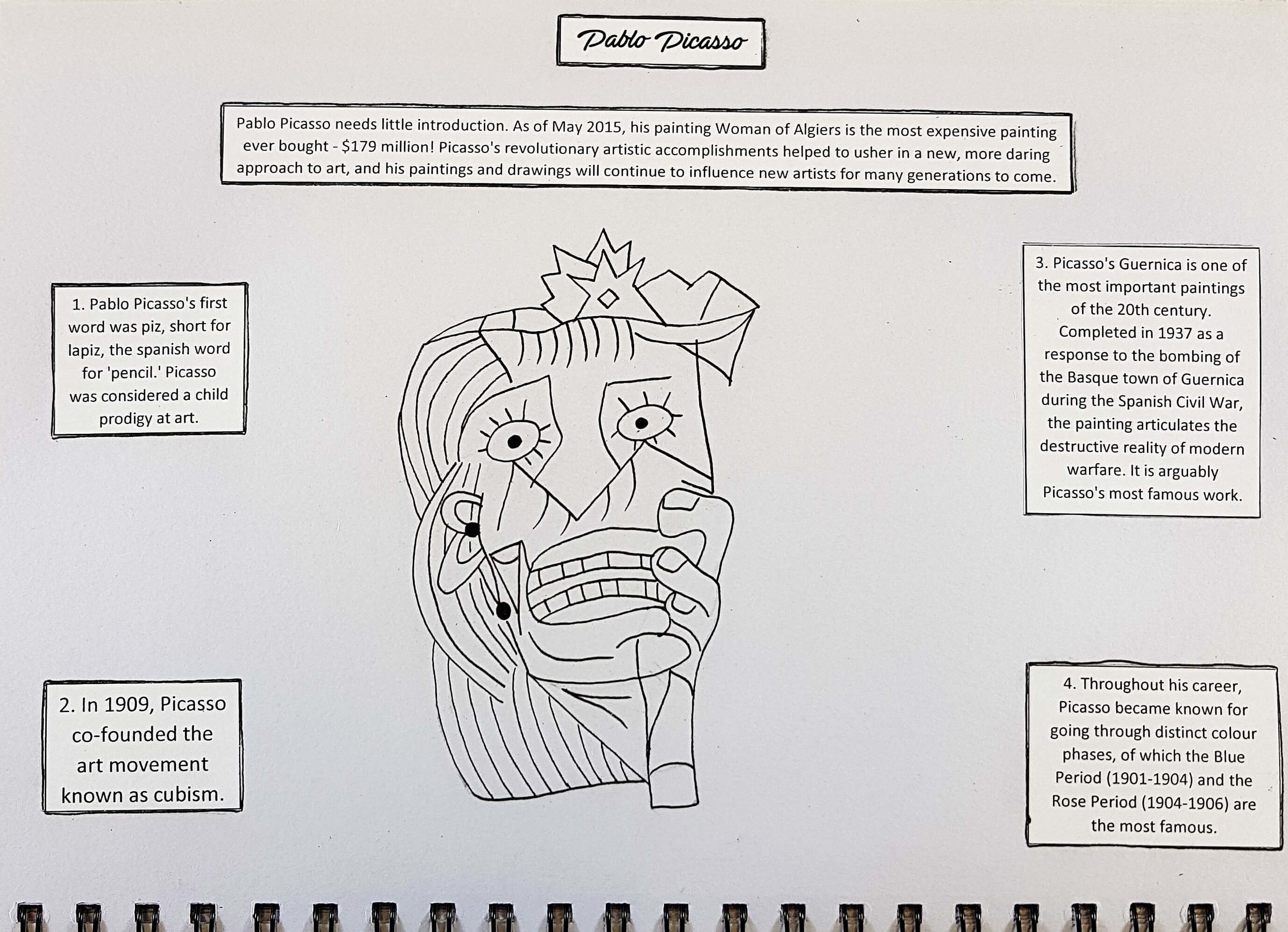Day 19: Pablo Picasso (part 1)