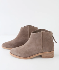 Tucker Leather Ankle Booties