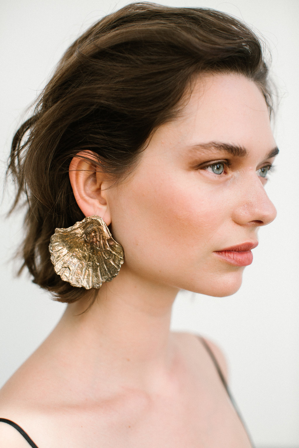 The Copia Earrings Sterling Silver Handmade by Naturae Design