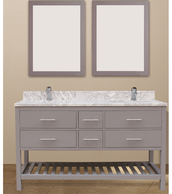 "Caribbean breeze collection set, grey 60""     $1650.00"