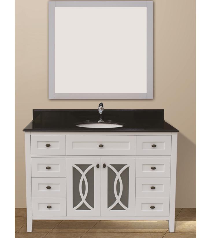 "Margaret Garden Collection Set, White 48""    $1250.00"