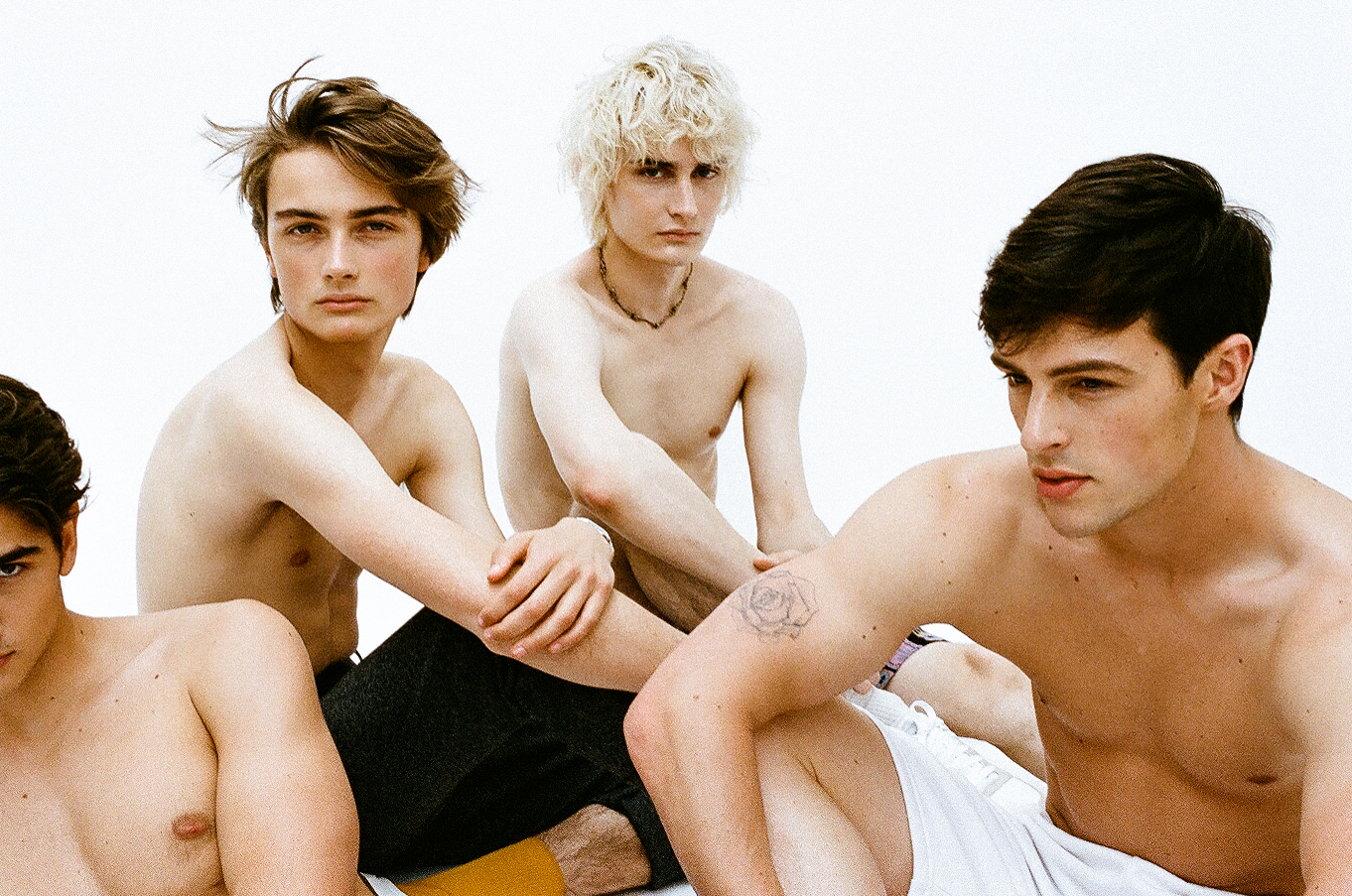 Boys editorial for Fucking Young Magazine