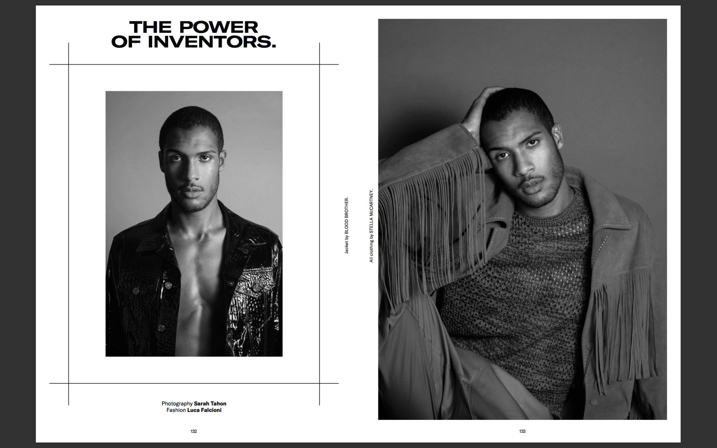 Printed editorial for Gaytimes Magazine